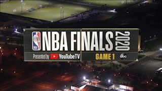 ESPN on ABC - 2020 NBA Finals Game 1 Intro with NBA Countdown (WABC)
