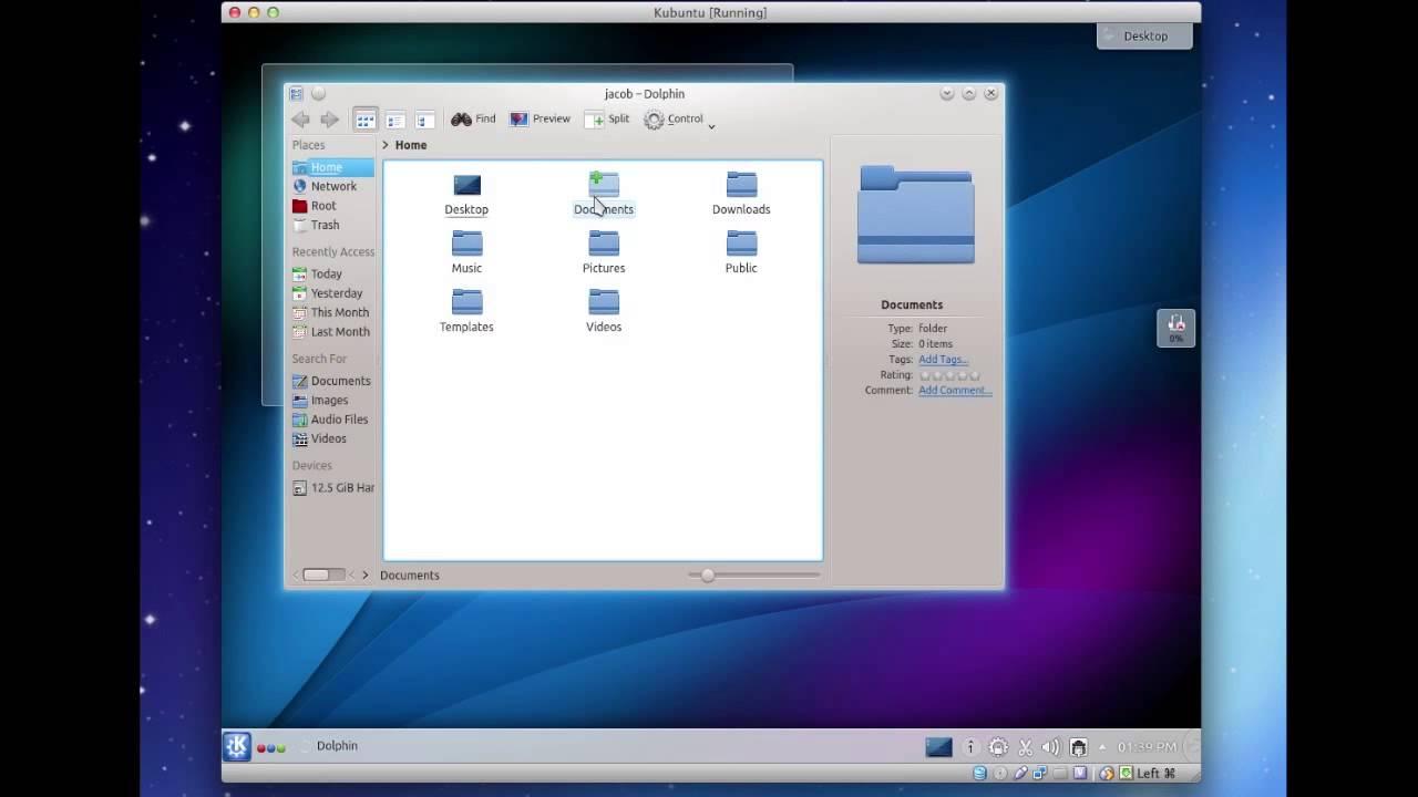 KDE 4 - Linux Desktop Environments