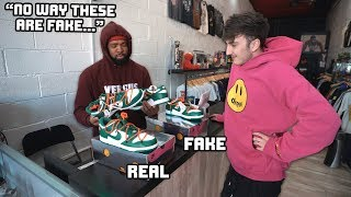 Can Sneaker Stores Tell Which Sneaker Is Real/Fake?