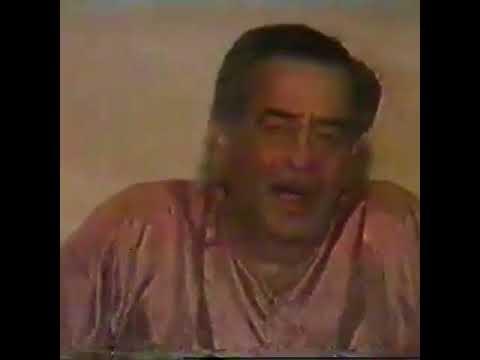Raj Kapoor pays tribute to  Shankarji of Shankar Jaikishan on his death part 2