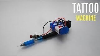 How To Make Tattoo Machine At Home Very Easy Free Online Videos