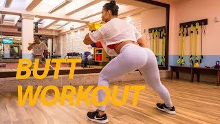 Kettlebell booty workout Get fit with Ana by Fitness Girl