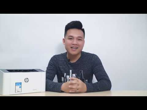 video huong dan cai dat may in hp laser 107w 4zb78a