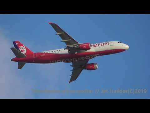(HD) Ex Air Berlin Eurowings Airbus A320-216 D-ABZI On EW9344 Heading To Manchester Ap On 11/09/2019