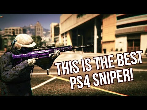 THIS IS THE BEST SNIPER ON PS4! (GTA Online)
