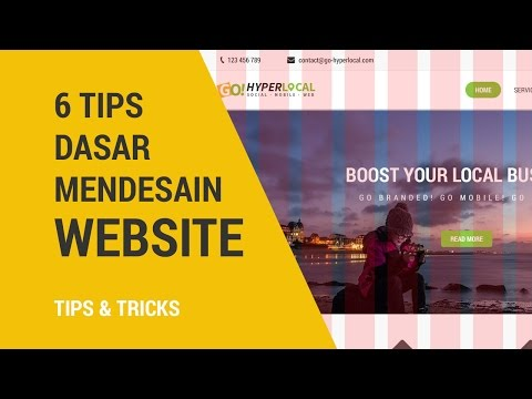 6 Tips Dasar Desain Web Di Adobe Photoshop | Tips & Tricks Mp3