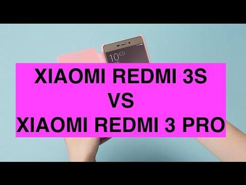 Foto Xiaomi Redmi 3S vs Xiaomi Redmi 3 Pro