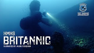 Diving the BRITANNIC Wreck 2016 - 100th Sinking Anniversary - GUE Project