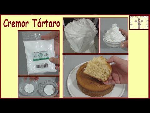 Qué es el cremor tártaro, Para qué y Cómo se usa? Merengue Italiano Frances Suizo Polvos de hornear