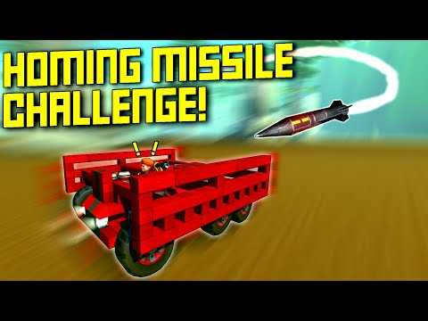 Survive the Homing Missiles as Long as Possible! - Scrap Mechanic Multiplayer Monday