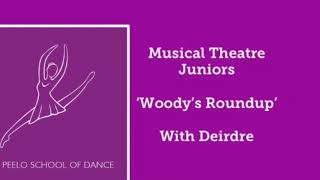 Musical theatre Juniors 'Woody's Roundup' with Deirdre