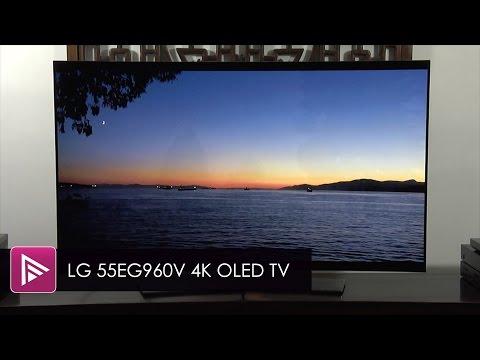 LG 55EG960V 4K OLED TV Review
