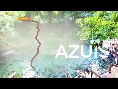 Rio Azuis 👉O menor rio do Mundo🙌 - Aurora Tocantins!