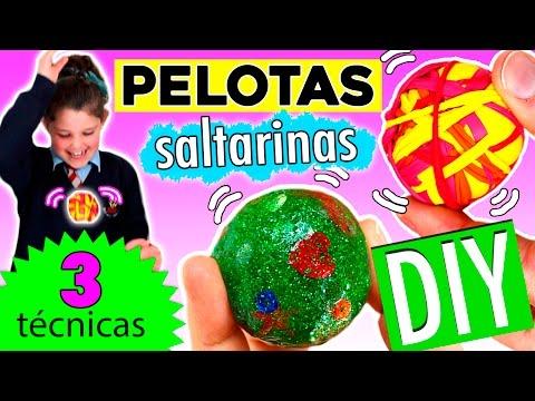 PELOTAS SALTARINAS o bouncy balls * 3 técnicas muy fáciles