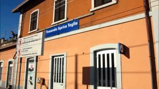 preview picture of video 'Annunci Treni alla Stazione di Tresenda Aprica Teglio'