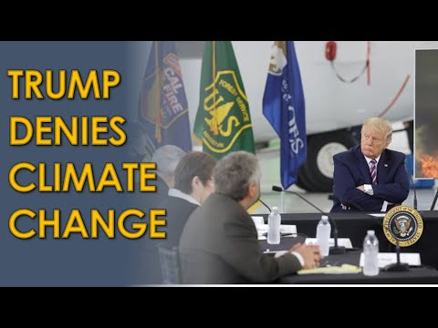 """Donald Trump DENIES Climate Change in Sacramento: """"It'll start getting cooler. You just watch"""""""