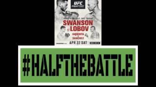 UFC Nashville: Swanson vs Lobov Bets, Picks, Predictions on Half The Battle