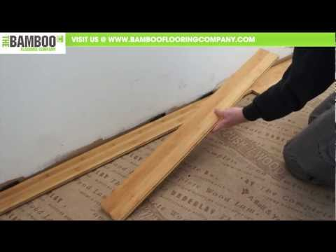 How to Install Bamboo Flooring (Tongue & Groove – Over Underlay)