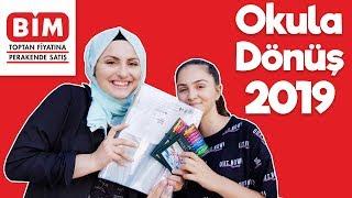Okul Alışverişi BİM OKULA DÖNÜŞ 2019 Back To School Fenomen Tv