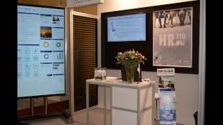 WelcAR - небольшая презентация для большого Touch Screena (SAP HR, Molga)