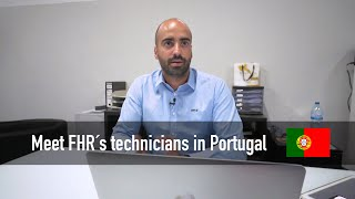 Meet Sandro technician from Portugal