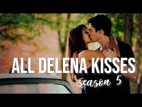 All Delena Kisses | Season 5