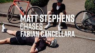 Matt Stephens Chases Fabian Cancellara