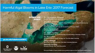 Forecast for Harmful Algal Blooms in Lake Erie in 2017