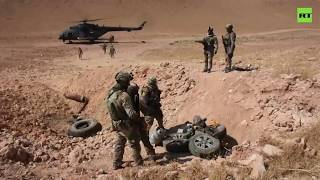 Iraqi Security Forces Search And Destroy ISIS Hideouts In Anbar Desert  | 2019