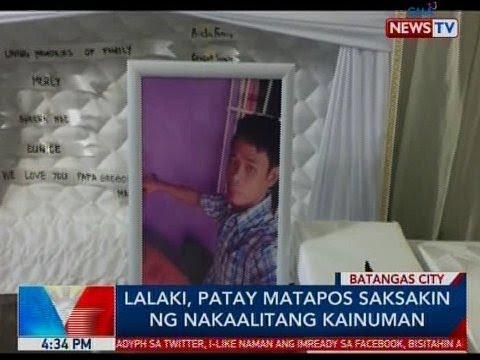 BP: Lalaki, patay matapos saksakin ng nakaalitang kainuman sa Batangas City