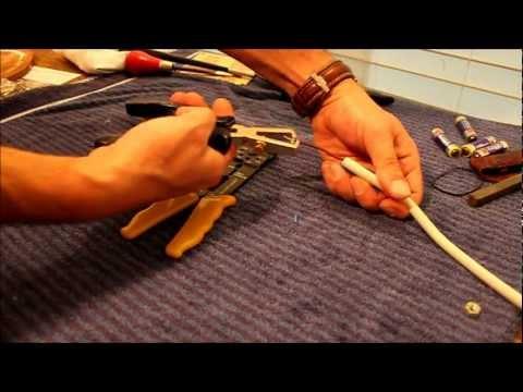 Kabel abisolieren lernen - NewWonder555
