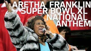 Aretha Franklin Sings National Anthem at Super Bowl 40   NFL