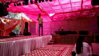This video is a live performance at a college fest - imanshugupta
