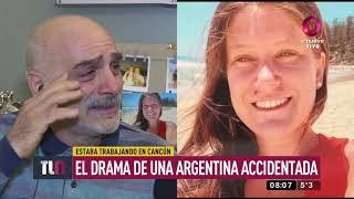 Joven Argentina Accidentada En Cancún: Se Cayó De Un Balcón Y No La Pueden Operar