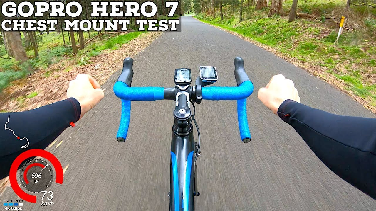 LAMA RIDES: GoPro Hero 7 Chest Mount Test // Fast Road Bike Descent