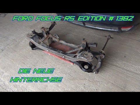 Ford Focus RS Edition 1382 - Die neue Hinterachse