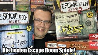 Die besten Escape Room Spiele im Schnelldurchlauf! (Noris) - Was sollte man spielen!?