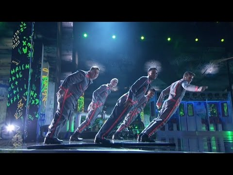 America's Got Talent 2016 Outlawz Dance Crew Live Shows Round 1 S11E12