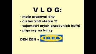 VLOG: Moje pracovní dny, kurzy líčení v Ikea, tajemství mých kurfů