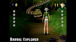 Barbie: Explorer PS1 Playthrough   The Worst Game I've EVER Played