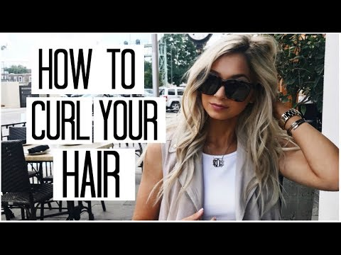 HOW TO CURL YOUR HAIR   How to Curl Your Hair with a Curling Iron