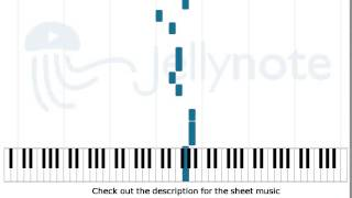 Lay of the Autumn - Insomnium [Piano Sheet Music]