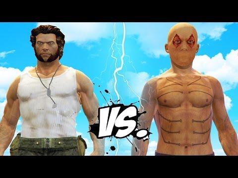 WOLVERINE vs DEADPOOL (X-Men Origins) - EPIC BATTLE