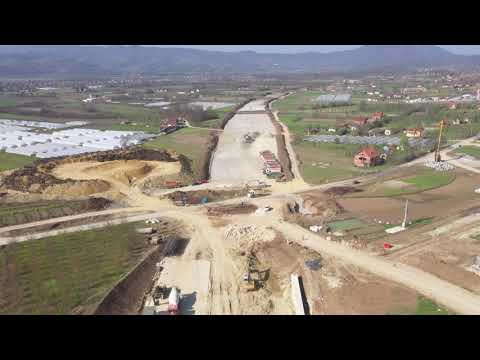 Pogledajte kako teku radovi na najzahtevnijoj deonici deonici autoputa Miloš Veliki (VIDEO)