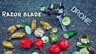 Fruit Ninja (Razor Blade Drone)
