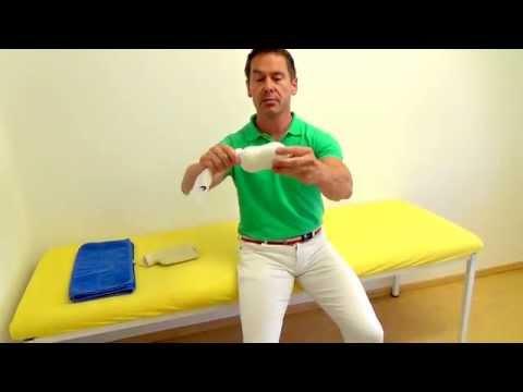 Lenden-Kreuzbein Osteochondrose Übung in Bildern