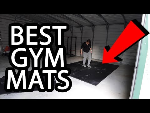 The Best Garage Gym Mats For Concrete Floors