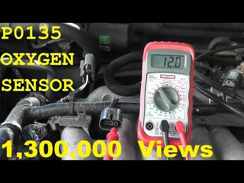 How To Test and Replace an Oxygen Sensor P0135