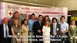 My Red Cross Story - Aram Orbelyan (English)