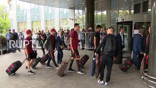 Russia: Ronaldo arrives in Moscow ahead of Portugal v Russia Confederations Cup match